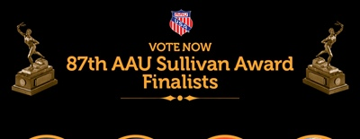 Highly Decorated Class of Finalists Announced for 87th AAU James E. Sullivan Award