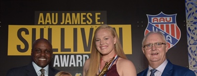 ESPNW Player of the Year and NCAA National Champion Kathryn Plummer Crowned 89th AAU Sullivan Award Winner Presented by Eastbay
